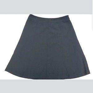 Covington Women's A-Line Skirt Size 12 Black